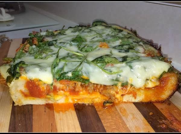 Crockpot Deep Dish Pizza