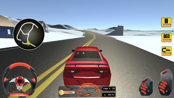 Taxi Cab Driver : Hill Station - screenshot