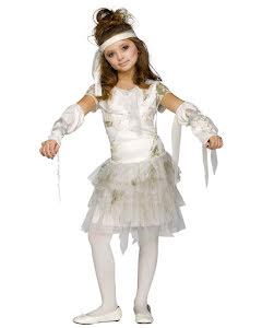 Mumieklänning, barn