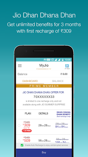 MyJio screenshot 2