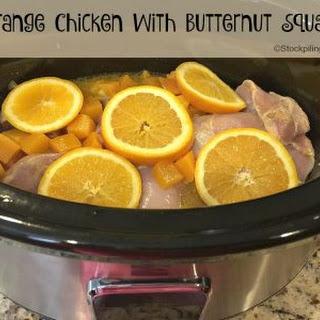Slow Cooker Paleo Orange Chicken.