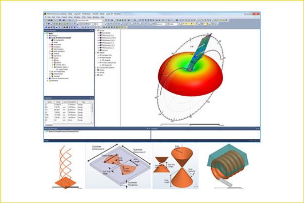 ANSYS - Библиотека электронных 3D компонентов