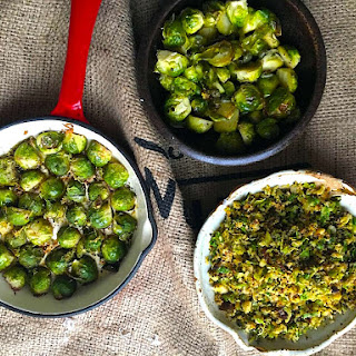 Brussel Sprouts Three Ways