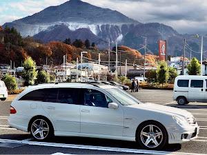 Eクラス ステーションワゴン W211 W211 E350のカスタム事例画像 福さん55さんの2020年11月26日07:29の投稿