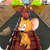 Subway Jerry Cheese Run : Running Temple Clash 3D