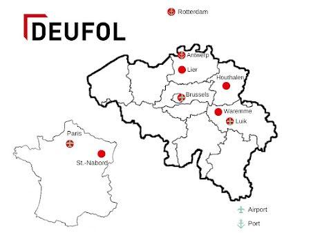 Deufol locaties