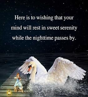 Good Night přání Zprávy - náhled