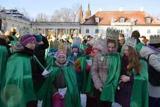 """Photo: Orszak Trzech Króli 2015 - byliśmy w grupie """"zielonej"""""""