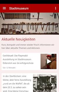 Stadtmuseum Gütersloh- screenshot thumbnail