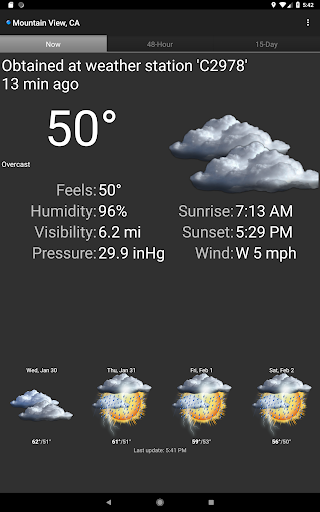 Palmary Weather screenshot 9