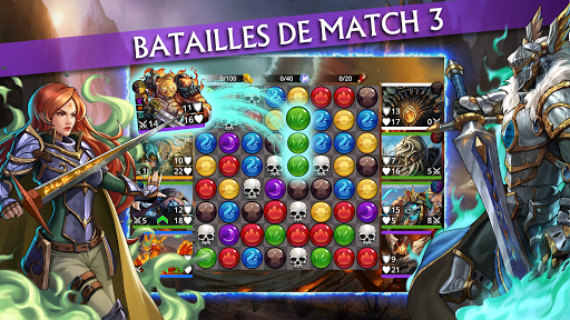 Gems of War - RPG Match 3  captures d'écran 1