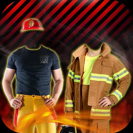 Firefighter Costume Suit