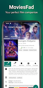 MoviesFad – Your movie manager App Download For Android 1
