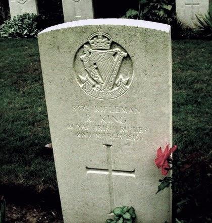 Francis King grave