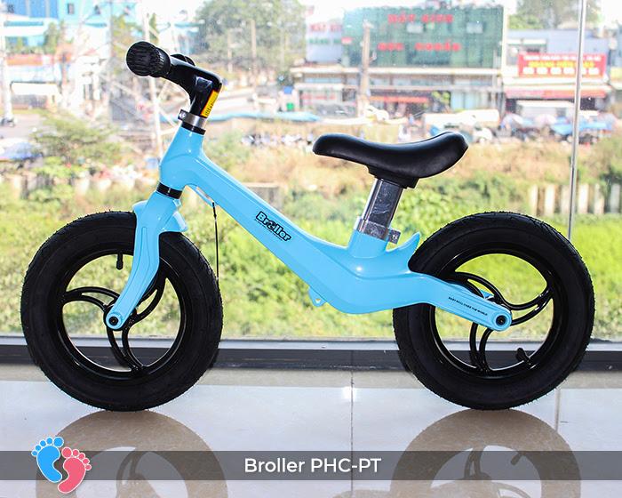 Xe cân bằng Broller PHC-PT bánh hơi 1