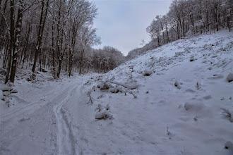 Photo: Snehu s výškou pomaly pribúda