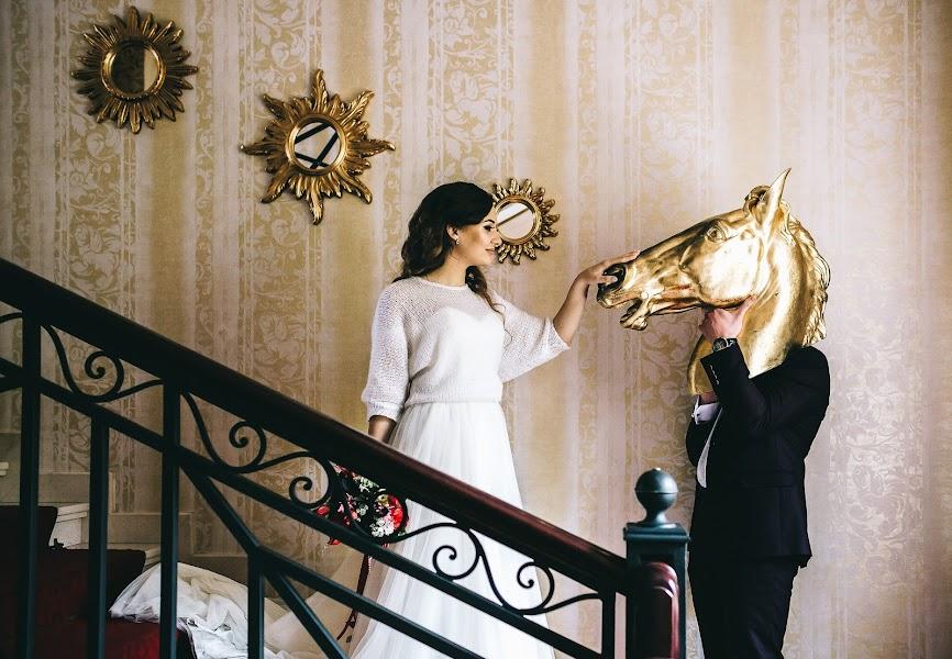 結婚式の写真家Roman Pervak (Pervak)。26.01.2018の写真
