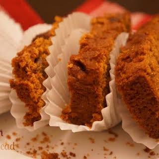 Gluten-Free Pumpkin Bread with Dates.