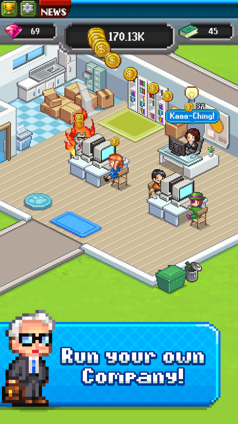Tap Tap Trillionaire - Business Simulator Screenshot 0