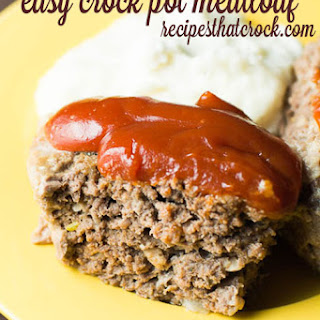 Slow-Cooked Meatloaf