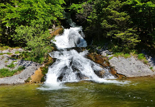 Photo: Wasserfall am Toplitzsee