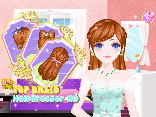 トップ編組美容師のHD