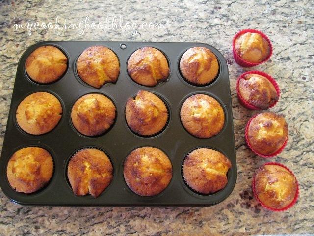 Кексчета (Cupcakes) с мармалад