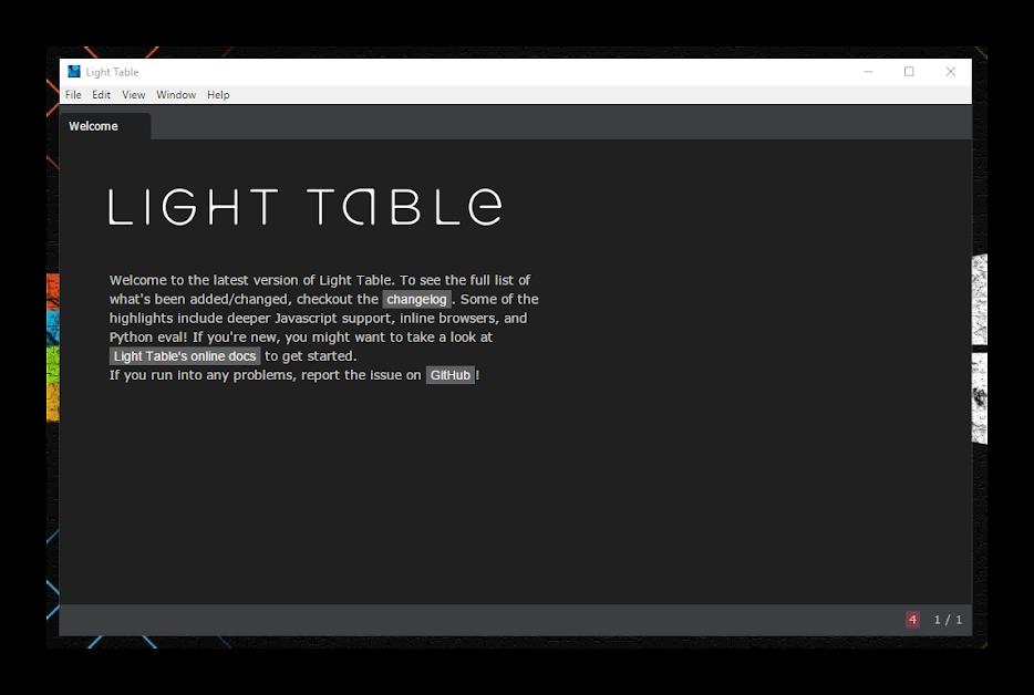 Beyond Light Table