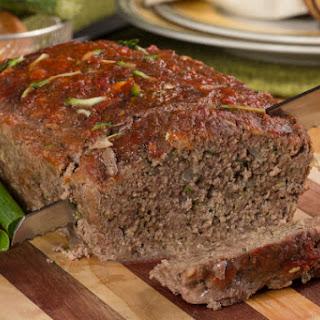Zucchini Meatloaf.
