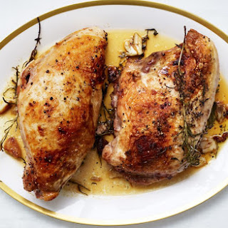 Butter-Roasted Turkey Breasts