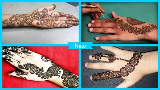 Latest Fancy Mehndi Design - náhled