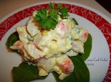 Cassies Crab Salad