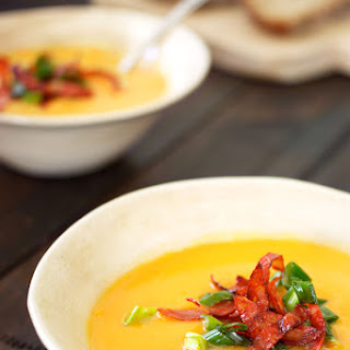 Sweet Potato & Pumpkin Soup