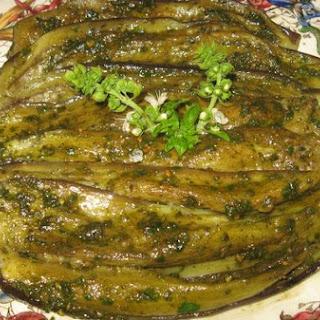 Eggplant With Pesto