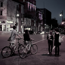 Photo: The night is young and so are we  It's been a busy few days in Montreal on business, so I've only got a few shots to share. I captured this just outside a street fair. I'll post a few more tomorrow.  #365project curated by +Susan Porterand +Simon Kitcher