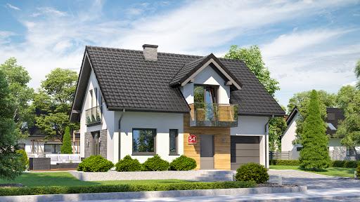 projekt Dom przy Alabastrowej 54