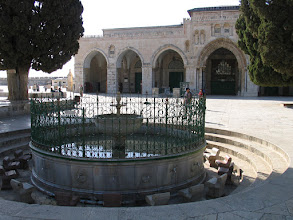 Photo: Jérusalem : mosquée d'El Aqsa