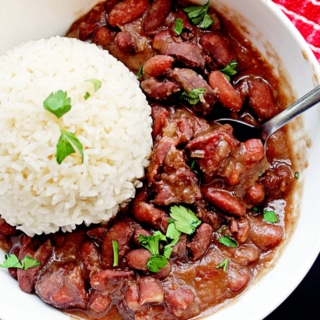 Red Beans and Rice Recipe (with Kidney Beans Recipe) Recipe