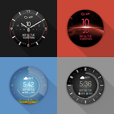 Watch Face - Minimal & Elegant for Android Wear OSのおすすめ画像2