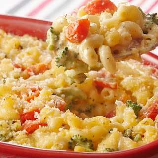 Macaroni and Cheese Primavera