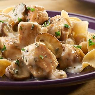 Chicken & Mushroom Stroganoff