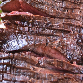 Grilled Balsamic Flank Steak
