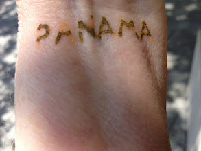 Photo: We're in Panama. Henna from Telegraph Ave in Berkeley