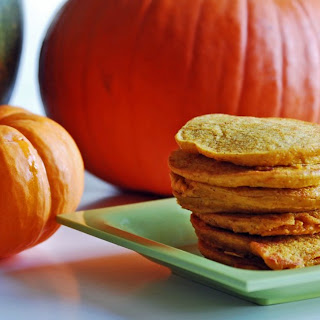 High Protein Pumpkin Pancakes.