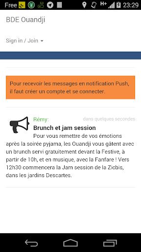 BDE Ouandji - ENS Lyon
