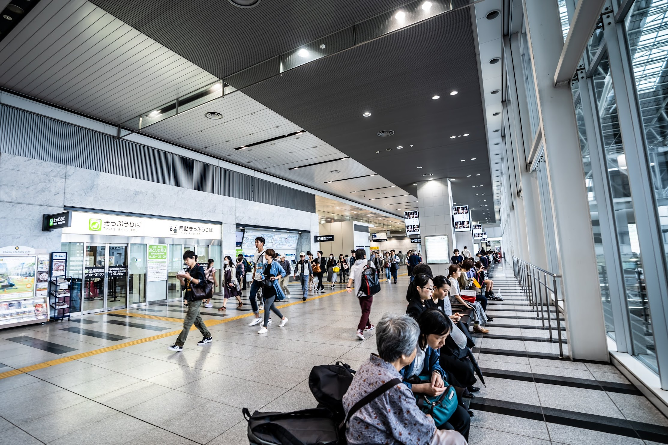 Osaka Station City connecting bridge1