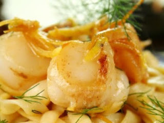 Seafood Pasta In Lemon Butter Sauce Recipe