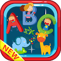 First Steps Book - ABC & 123 English Tracing icon
