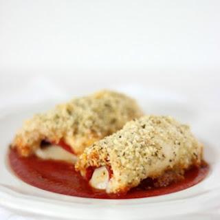 Mozzarella & Pepperoni Stuffed Chicken.