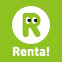 """まんが""""Renta!"""" 人気の漫画・コミックをお得にレンタルできる 品揃え最大級の漫画アプリ レンタ icon"""
